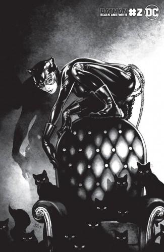 BATMAN BLACK AND WHITE #2 (2020 SERIES) KAMOME SHIRAHAMA CATWOMAN VARIANT