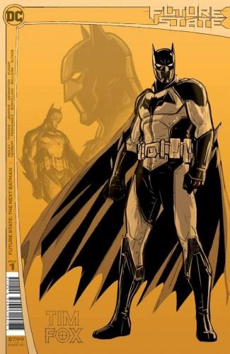 FUTURE STATE THE NEXT BATMAN #1 2ND PRINTING