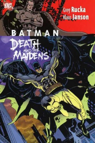 BATMAN DEATH AND THE MAIDENS GRAPHIC NOVEL