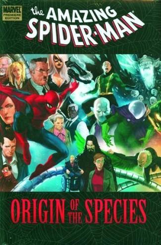 SPIDER-MAN ORIGIN OF THE SPECIES HARDCOVER