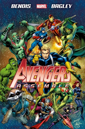 AVENGERS ASSEMBLE BY BENDIS HARDCOVER