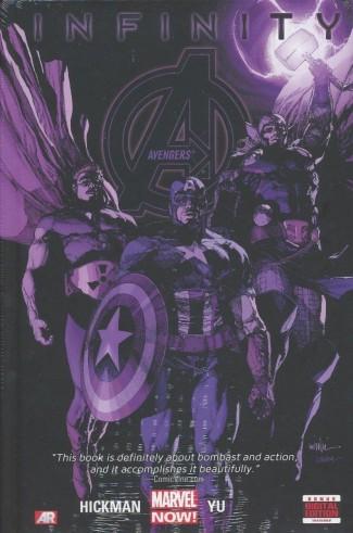 AVENGERS VOLUME 4 INFINITY HARDCOVER