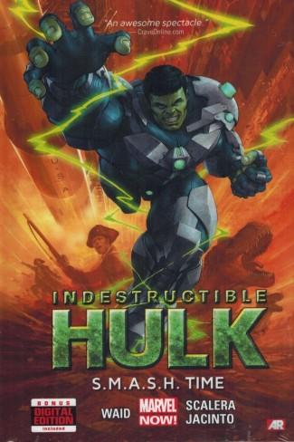 INDESTRUCTIBLE HULK VOLUME 3 SMASH TIME HARDCOVER