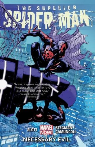 SUPERIOR SPIDER-MAN VOLUME 4 NECESSARY EVIL GRAPHIC NOVEL