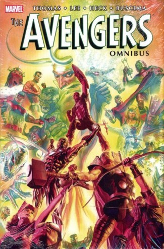 AVENGERS OMNIBUS VOLUME 2 ALEX ROSS VARIANT HARDCOVER