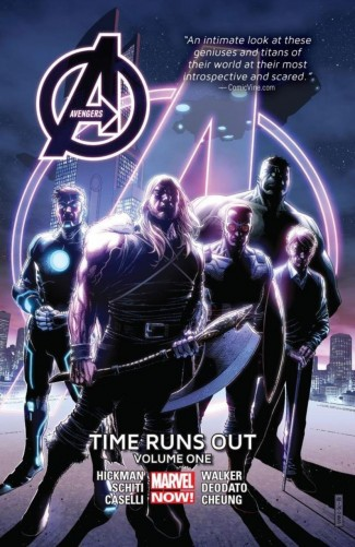 AVENGERS TIME RUNS OUT VOLUME 1 HARDCOVER