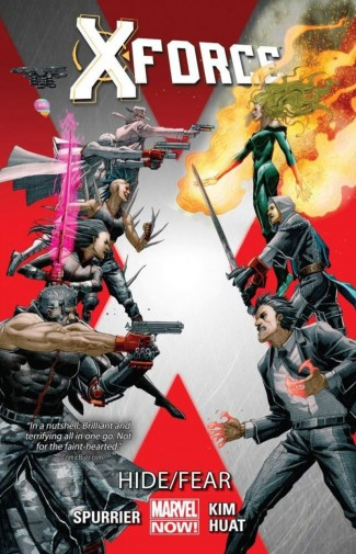 X-FORCE VOLUME 2 HIDE FEAR GRAPHIC NOVEL