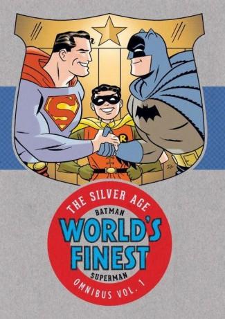 BATMAN SUPERMAN WORLDS FINEST SILVER AGE OMNIBUS VOLUME 1 HARDCOVER