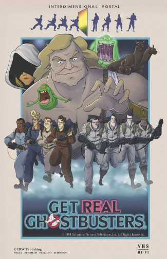 GHOSTBUSTERS GET REAL GRAPHIC NOVEL