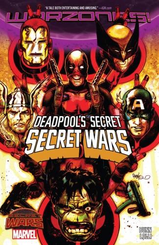 DEADPOOLS SECRET SECRET WARS GRAPHIC NOVEL