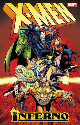 X-MEN INFERNO VOLUME 1 GRAPHIC NOVEL