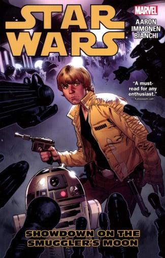 STAR WARS VOLUME 2 SHOWDOWN ON THE SMUGGLERS MOON GRAPHIC NOVEL