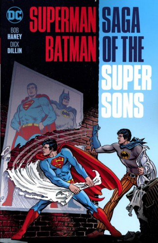 SUPERMAN BATMAN SAGA OF THE SUPER SONS NEW EDITION GRAPHIC NOVEL