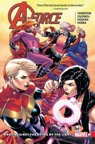 A-FORCE VOLUME 2 RAGE AGAINST THE DYING OF THE LIGHT GRAPHIC NOVEL