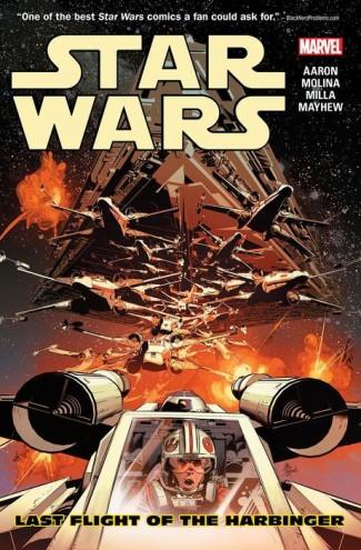 STAR WARS VOLUME 4 LAST FLIGHT OF THE HARBINGER GRAPHIC NOVEL