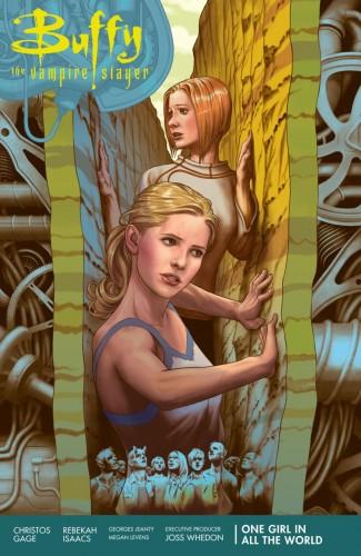 BUFFY THE VAMPIRE SLAYER SEASON 11 VOLUME 2 ONE GIRL IN ALL WORLD GRAPHIC NOVEL
