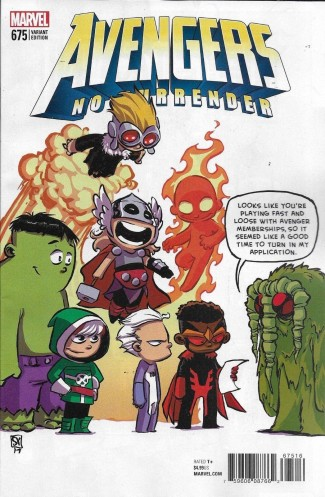 AVENGERS #675 (2016 SERIES) YOUNG VARIANT