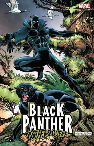 BLACK PANTHER PANTHERS QUEST GRAPHIC NOVEL