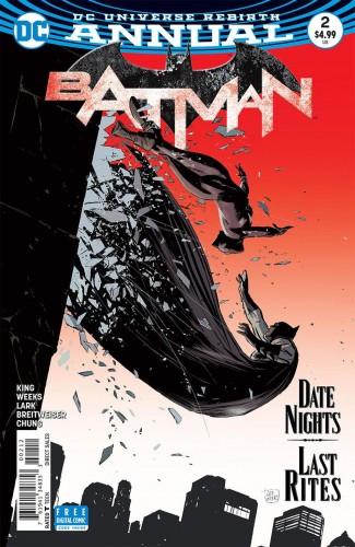 BATMAN ANNUAL #2 (2016 SERIES) 2ND PRINTING