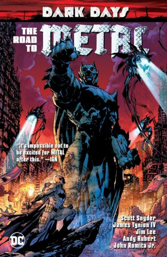 DARK DAYS ROAD TO METAL GRAPHIC NOVEL