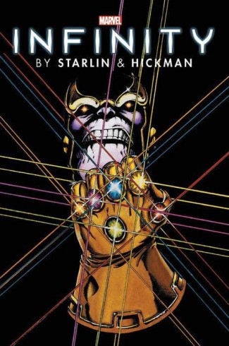 INFINITY BY STARLIN AND HICKMAN OMNIBUS HARDCOVER