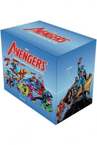 AVENGERS EARTHS MIGHTIEST SLIPCASE HARDCOVER BOX SET
