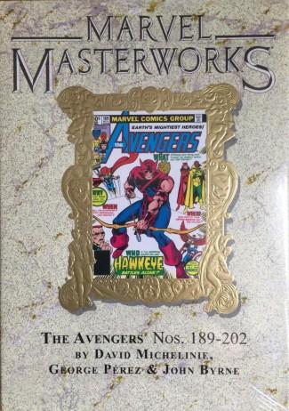 MARVEL MASTERWORKS AVENGERS VOLUME 19 DM VARIANT #273 EDITION HARDCOVER