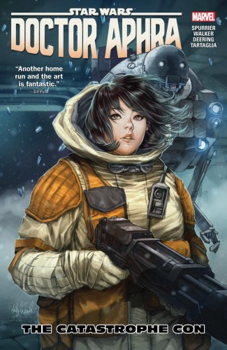 STAR WARS DOCTOR APHRA VOLUME 4 THE CATASTROPHE CON GRAPHIC NOVEL