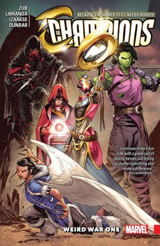 CHAMPIONS VOLUME 5 WEIRD WAR ONE GRAPHIC NOVEL