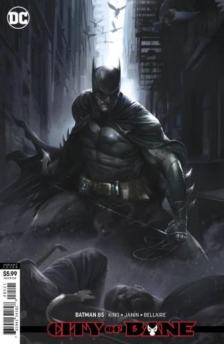 BATMAN #85 (2016 SERIES) CARD STOCK VARIANT