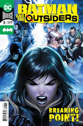 BATMAN AND THE OUTSIDERS #8 (2019 SERIES)
