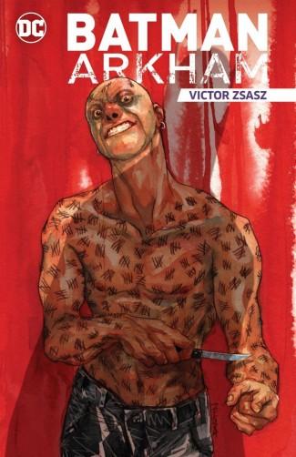 BATMAN ARKHAM VIKTOR ZSASZ GRAPHIC NOVEL