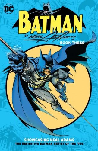 BATMAN BY NEAL ADAMS BOOK 3 GRAPHIC NOVEL