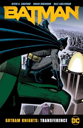 BATMAN GOTHAM KNIGHTS TRANSFERENCE GRAPHIC NOVEL