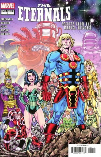 ETERNALS SECRETS FROM THE MARVEL UNIVERSE #1