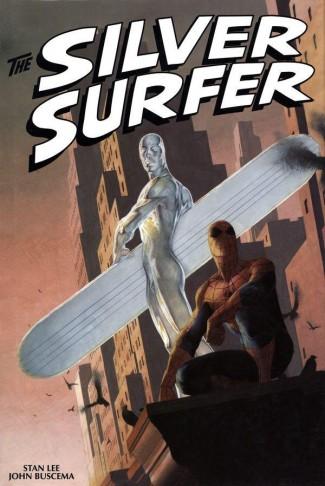 SILVER SURFER OMNIBUS VOLUME 1 DM VARIANT RIBIC HARDCOVER