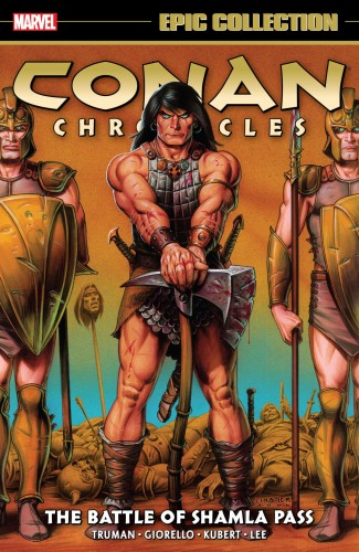 CONAN CHRONICLES EPIC COLLECTION THE BATTLE OF SHAMLA PASS GRAPHIC NOVEL