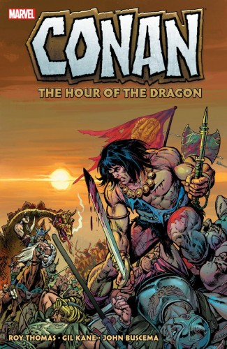 CONAN THE HOUR OF THE DRAGON GRAPHIC NOVEL