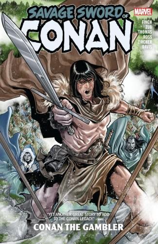 SAVAGE SWORD OF CONAN CONAN THE GAMBLER GRAPHIC NOVEL