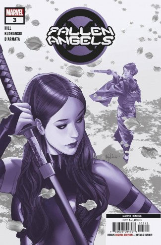 FALLEN ANGELS #3 2ND PRINTING