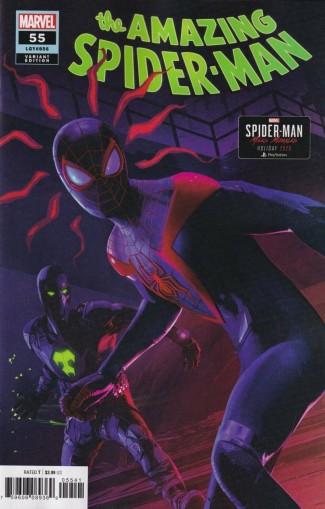 AMAZING SPIDER-MAN #55 (2018 SERIES) HORTON MILES MORALES 1 IN 10 VARIANT