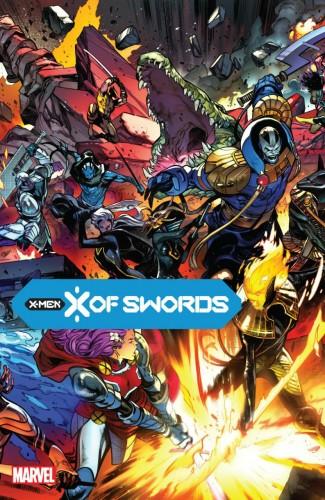 X OF SWORDS HARDCOVER