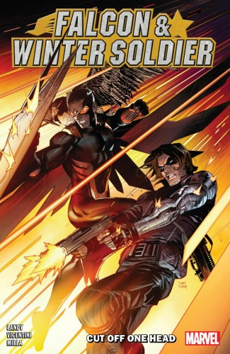 FALCON AND WINTER SOLDIER CUT OFF ONE HEAD GRAPHIC NOVEL