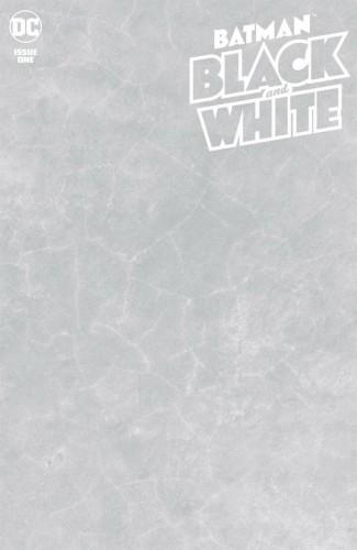 BATMAN BLACK AND WHITE #1 (2020 SERIES) BLANK VARIANT
