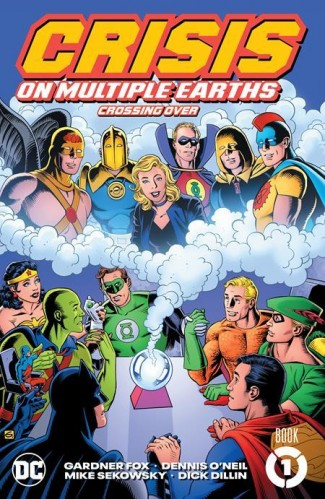 CRISIS ON MULTIPLE EARTH BOOK 1 CROSSING OVER GRAPHIC NOVEL