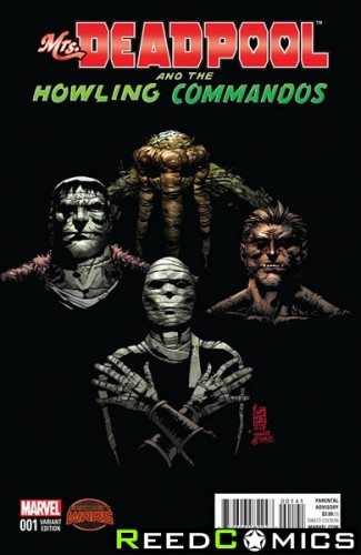 Mrs Deadpool and the Howling Commandos #1 (1 in 20 Incentive Variant Cover)