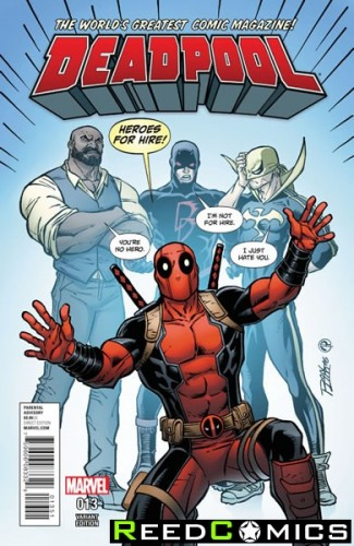 Deadpool Volume 5 #13 (Lim Variant Cover)