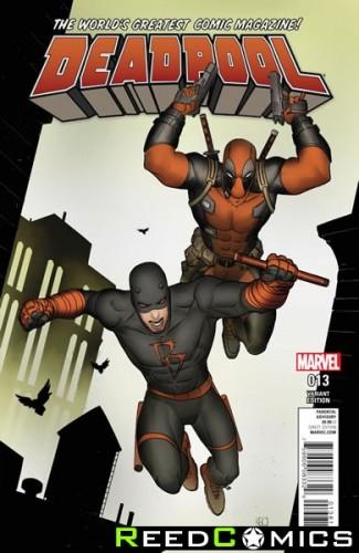 Deadpool Volume 5 #13 (Pham Daredevil Variant Cover)