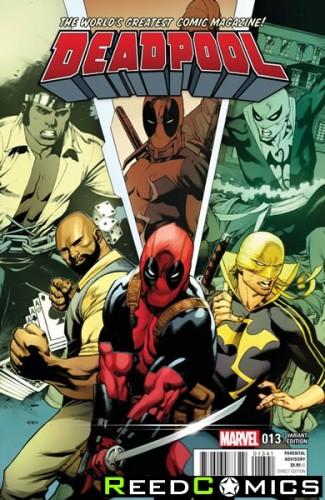 Deadpool Volume 5 #13 (Stevens Power Man and Iron Fist Variant Cover)