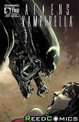 Aliens Vampirella #2